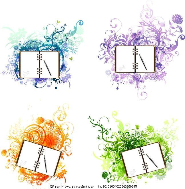 底纹 背景 矢量素材 欧式边框相框 边框相框 底纹边框 花纹花边 欧式
