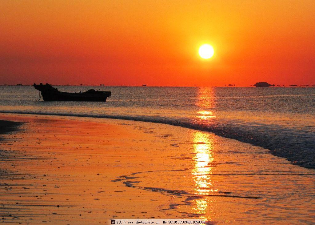金色太阳升起来图片