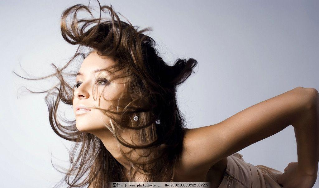 发型模特 时尚发型模特