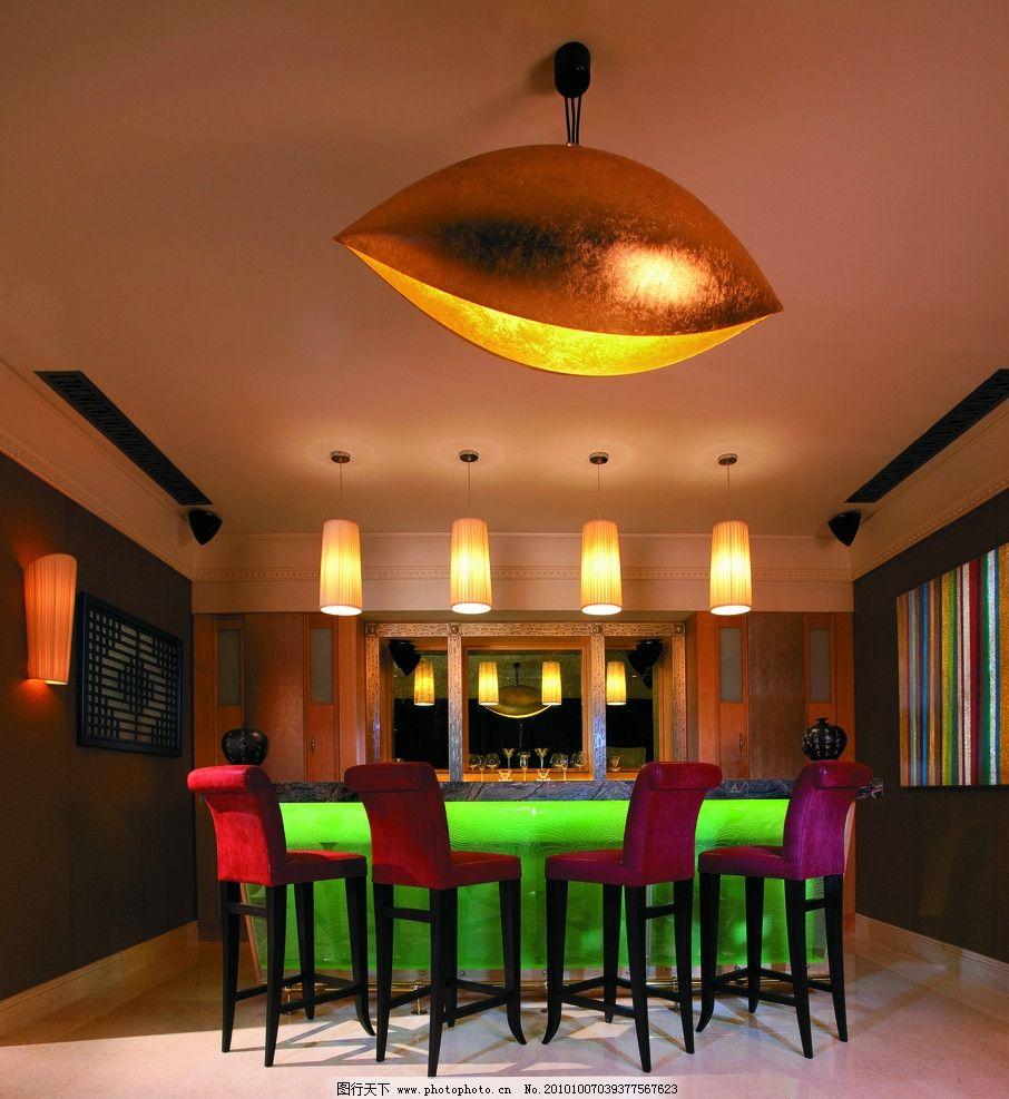 餐厅 餐厅设计 吧台 灯具设计 西餐厅 酒店设计 五星级酒店 香格里拉图片