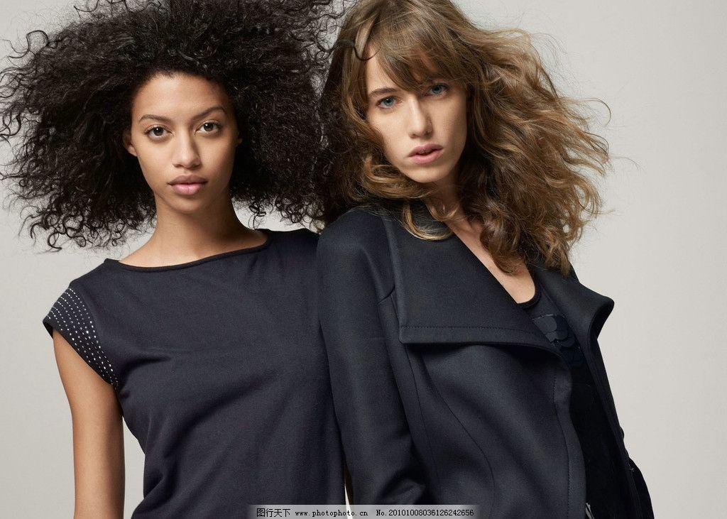 女模特 时装模特 美女模特 时装秀 酷 摆拍 性感美女 休闲人物