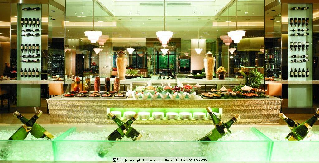 餐厅 西餐厅 酒店设计 五星级酒店 香格里拉设计 欧式设计 室内设计