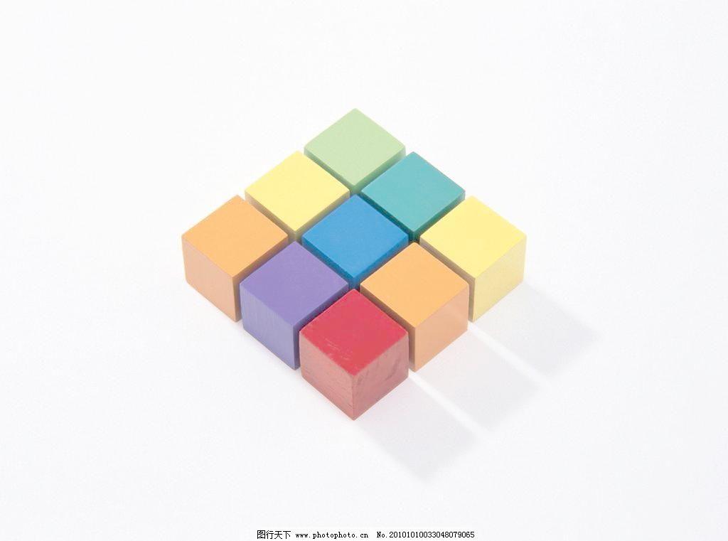 彩色方块图片