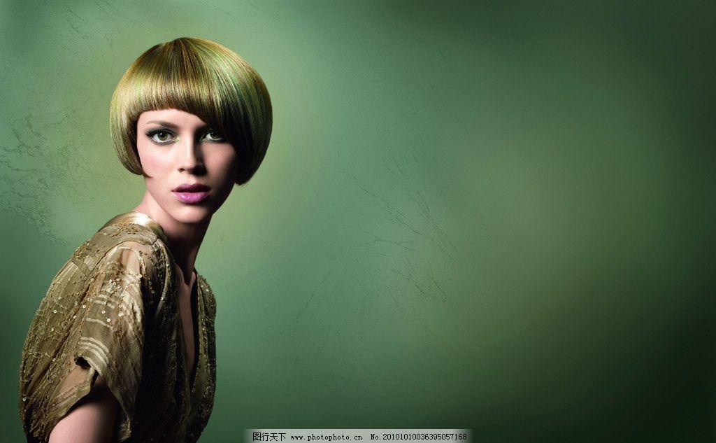 美女 发型 短发 女人 艺术 海报 宣传 抽象 人物摄影 摄影图片