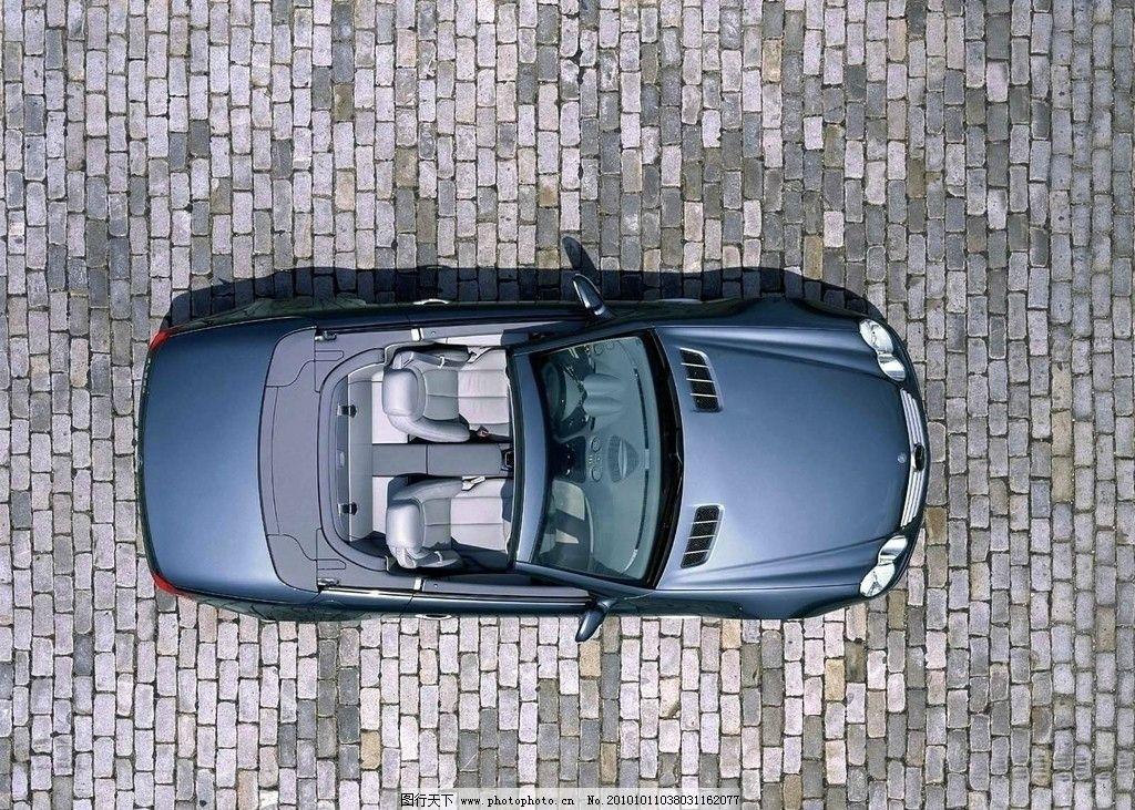 汽车摄影 俯视图片