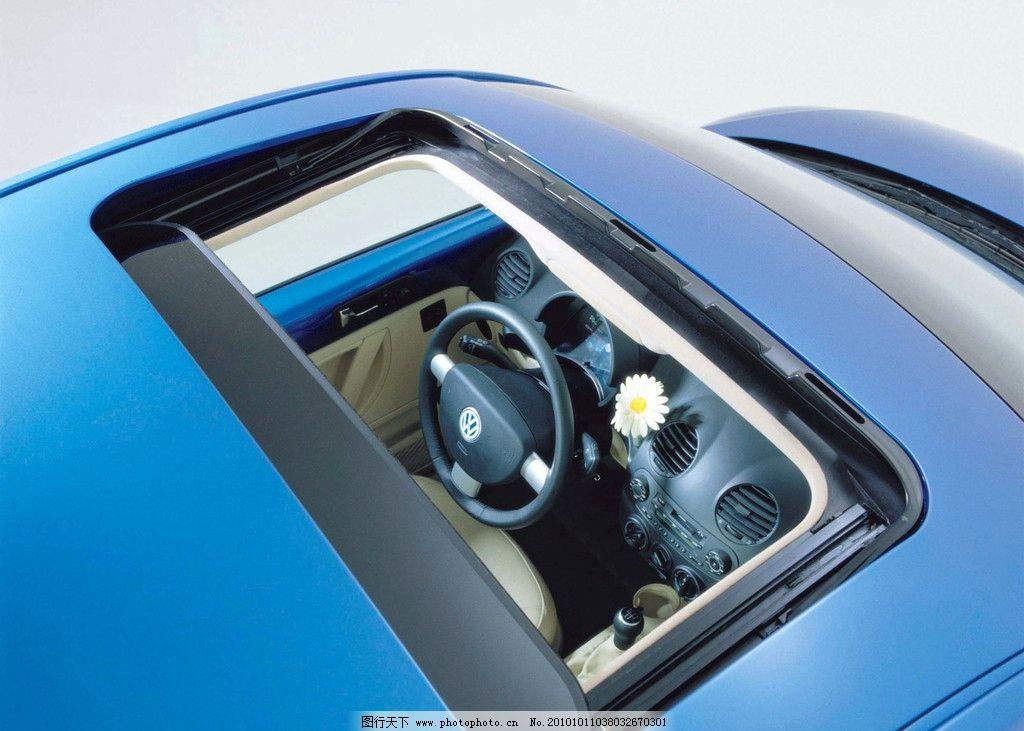 汽车摄影 特写 小轿车 汽车 大众 天窗 交通工具 现代科技 摄影 305