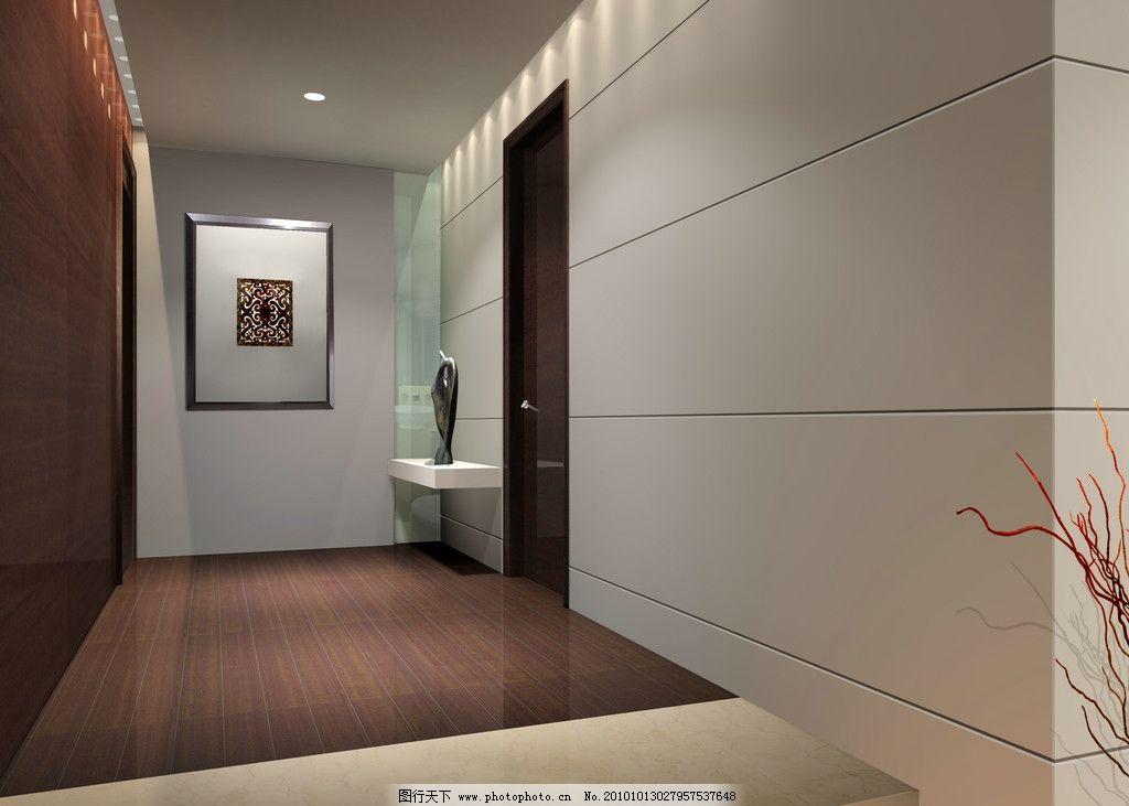过道 过道效果图 走廊效果图 室内设计 室内渲染 端景 吊顶设计 环境