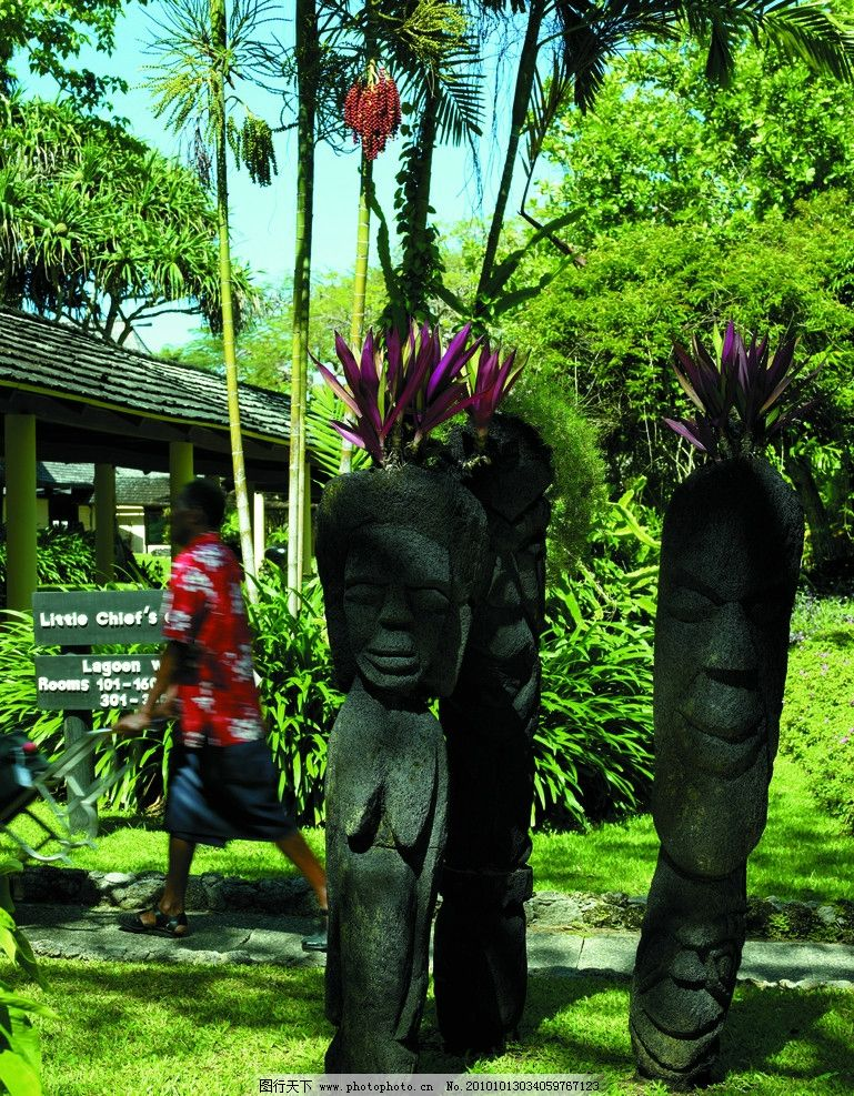 别墅设计 雕塑设计 景观设计 非洲 植物 森林 庭院 景观小品 国外旅游