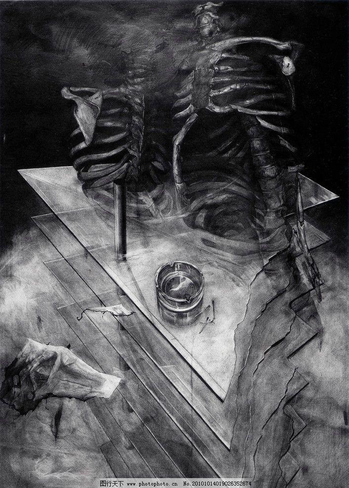 实验素描 黑白画 线描 线条 中国美术学院 师生作品 高考素描