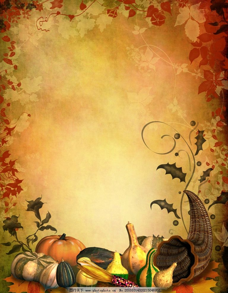 幼儿园主题墙边框设计图片秋天展示