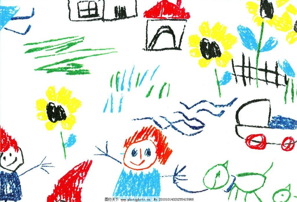 涂鸦 儿童 绘画 小朋友 铅笔 钢笔 背景底纹 底纹边框 设计 600dpi
