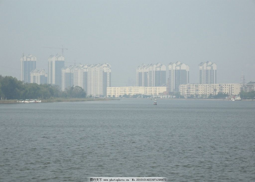 水城 盘锦 湿地之都 湖边风景 楼 水中城市 国内旅游 旅游摄影