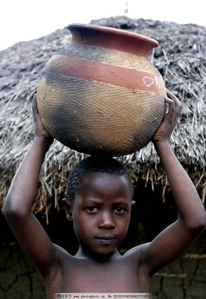 非洲儿童图片