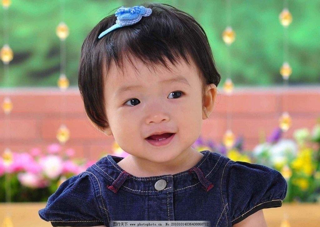 可爱的小女孩 可爱的 小女孩 乌黑头发 明亮眼睛 漂亮脸蛋 天真无暇