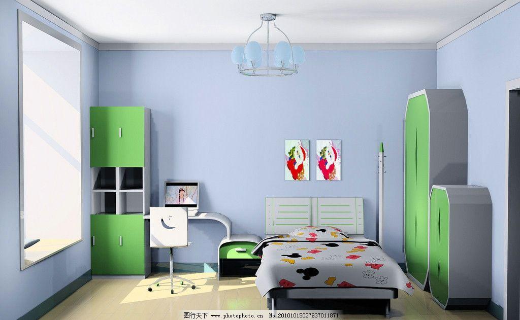 儿童房      儿童卧室 儿童        卧室效果图 3d效果图 3d 室内设计