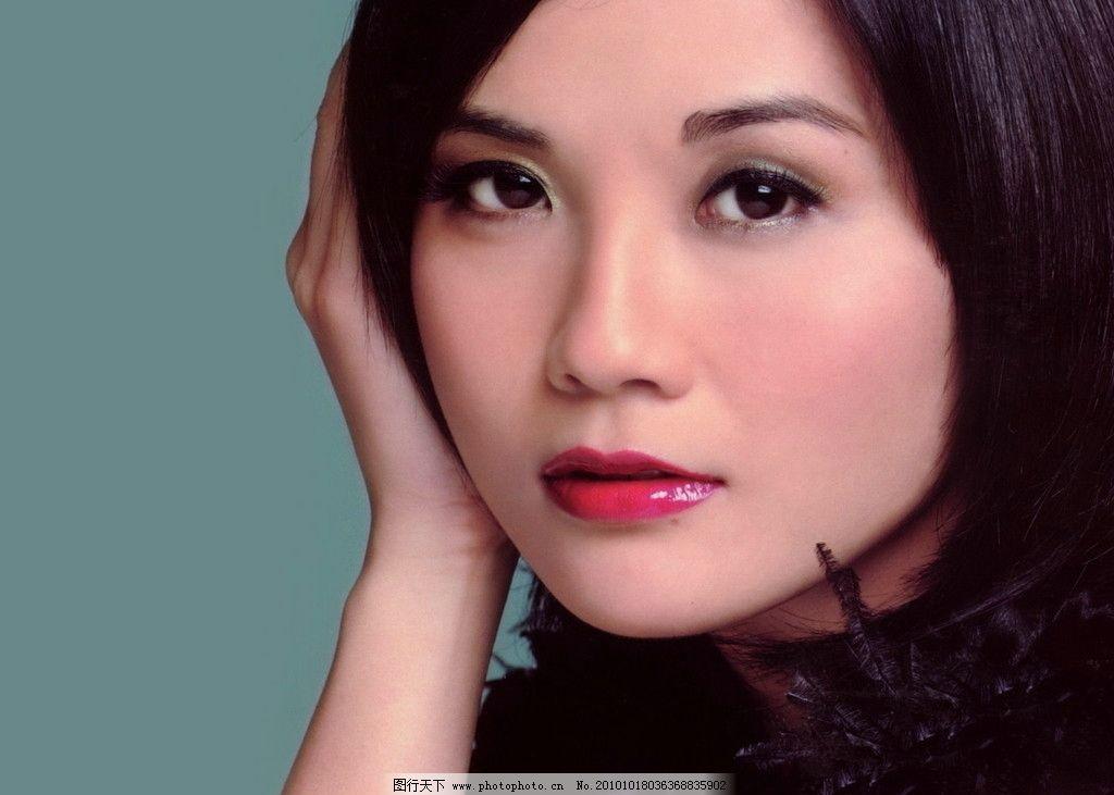 蔡卓妍 香港女星 红唇 歌手 演员 可爱女生 摄影