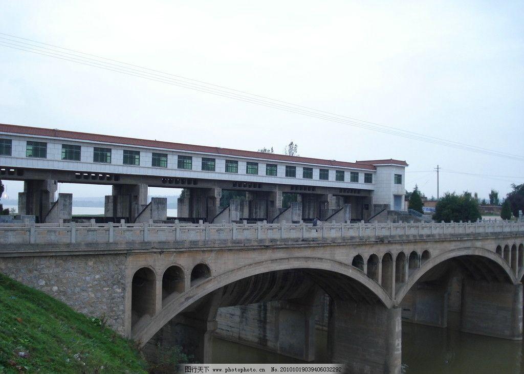 桥梁 大桥 拱形的桥墩