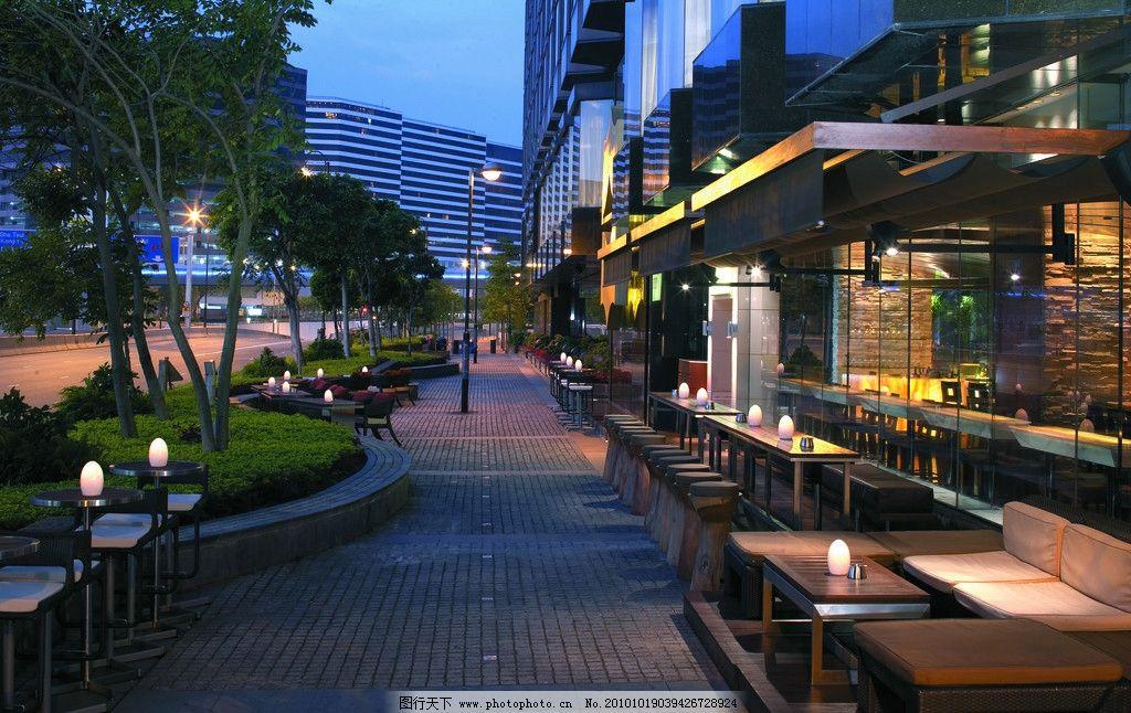 餐厅 西餐厅 室外餐厅 酒吧设计 酒店设计 五星级酒店 香格里拉酒店