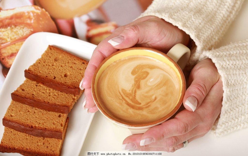 咖啡与面包