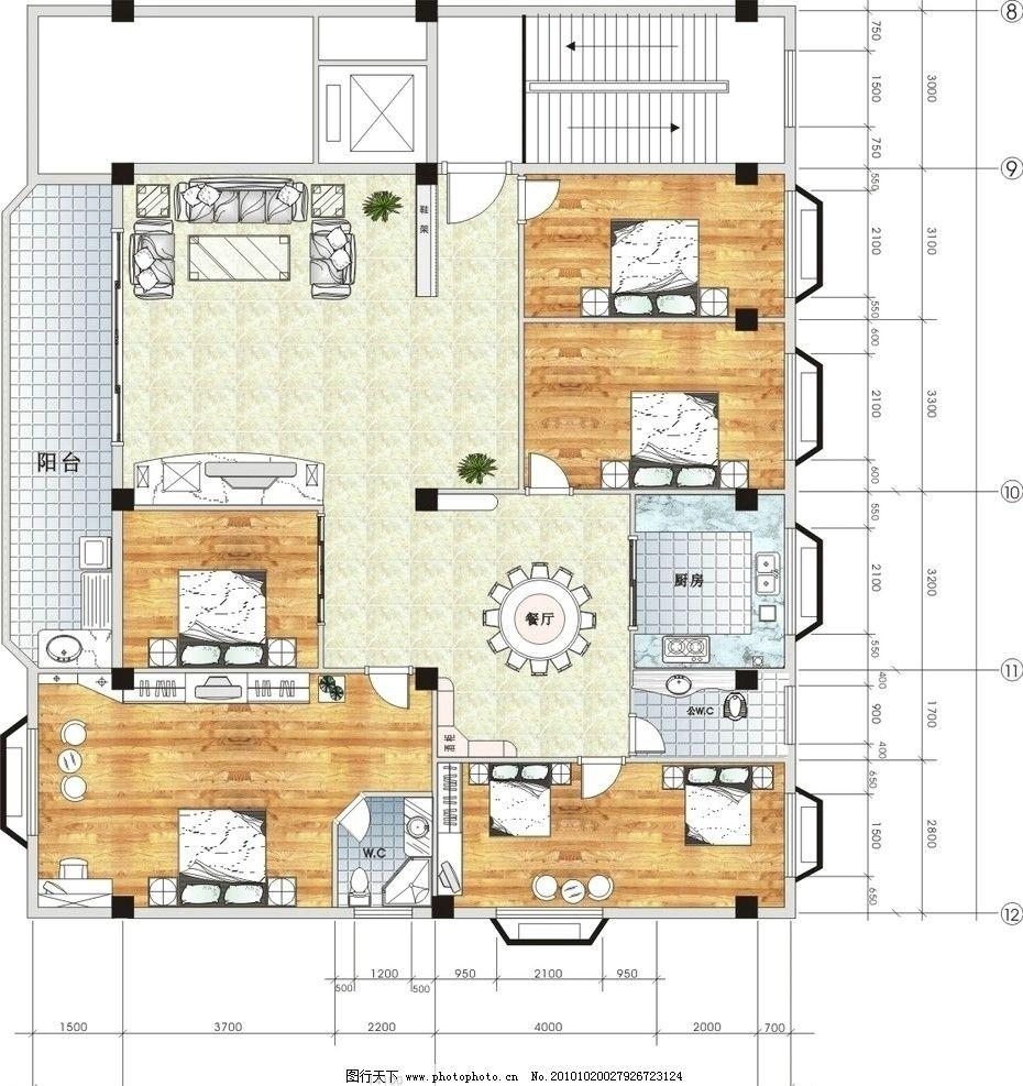 室内平面图 室内 平面图 家具 家具矢量图 室内设计 建筑家居 矢量