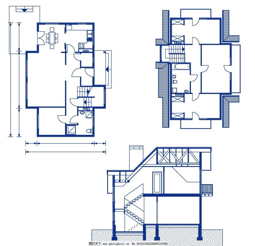 室内设计图 工程建筑图 建筑图纸 示意图 平面 平面图 工程图