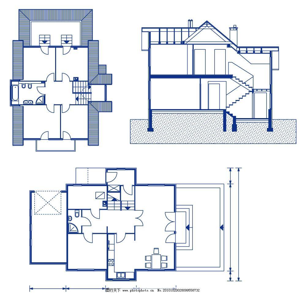 室内设计图 工程建筑图图片