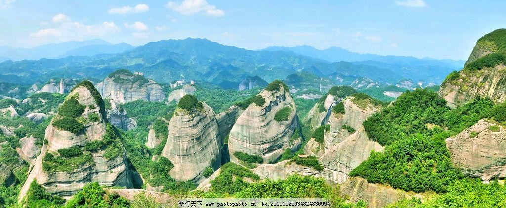 八角寨 湖泊 资源风光 高山 绿树 清澈 翠绿 蓝天 自然风景 自然景观