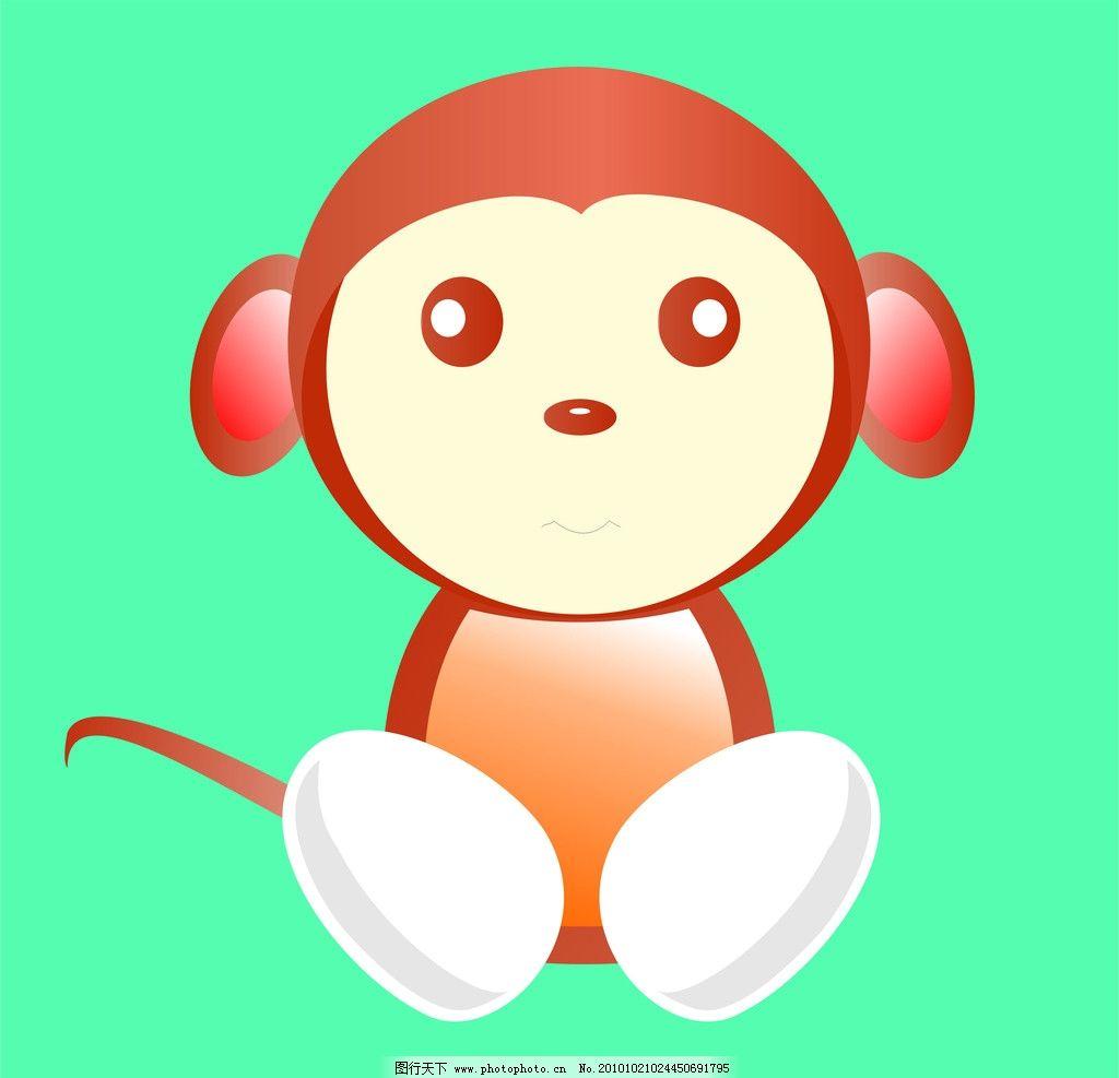 矢量猴子图片