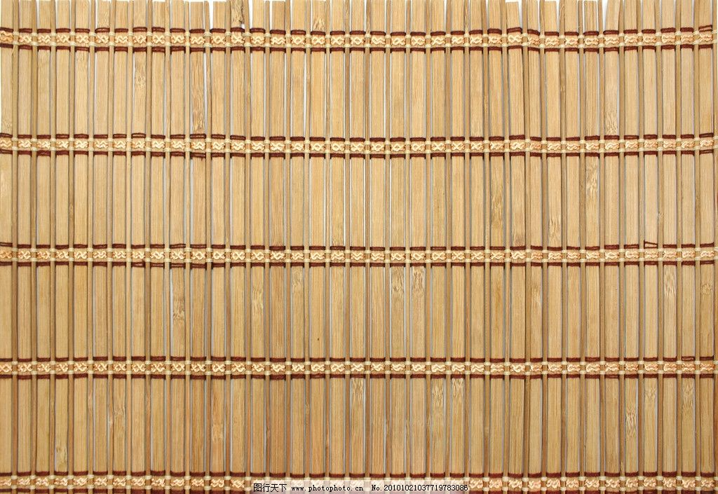 竹席 竹席背景 凉席 竹席图片 竹条 编织 天然 材质 本色 底纹边框 背景底纹 其他 生活百科 摄影 300DPI JPG