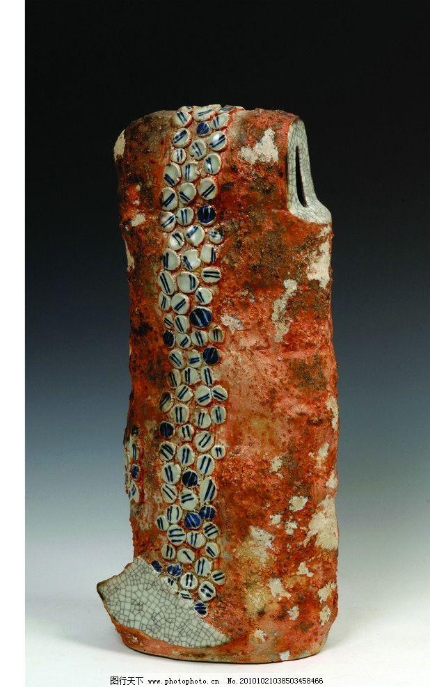 陶器 花纹 小石头 瓷器 传统文化 文化艺术 摄影 300dpi jpg