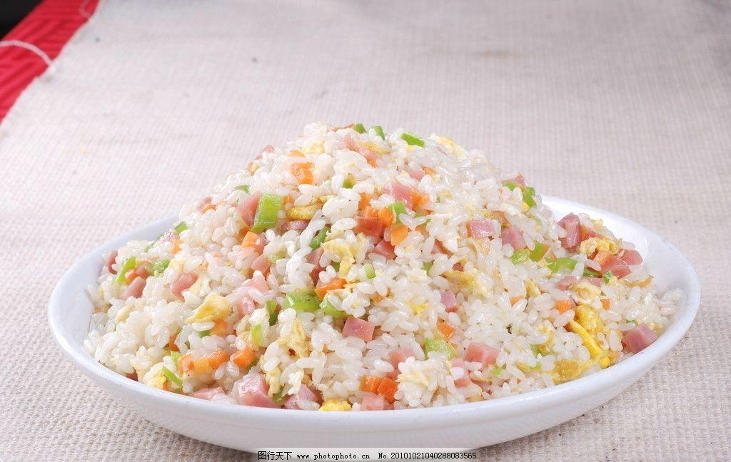炒米饭图片