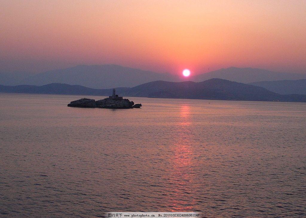 日出摄影 日出风光 海洋日出 日出美景 早晨 清晨 太阳 自然风景 自然