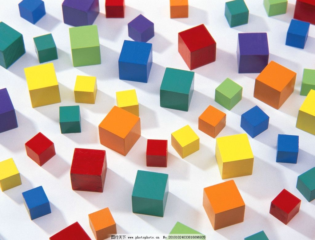 方块 学习用品 正方形 正方体 魔方 玩具 积木 图片素材 其他 设计