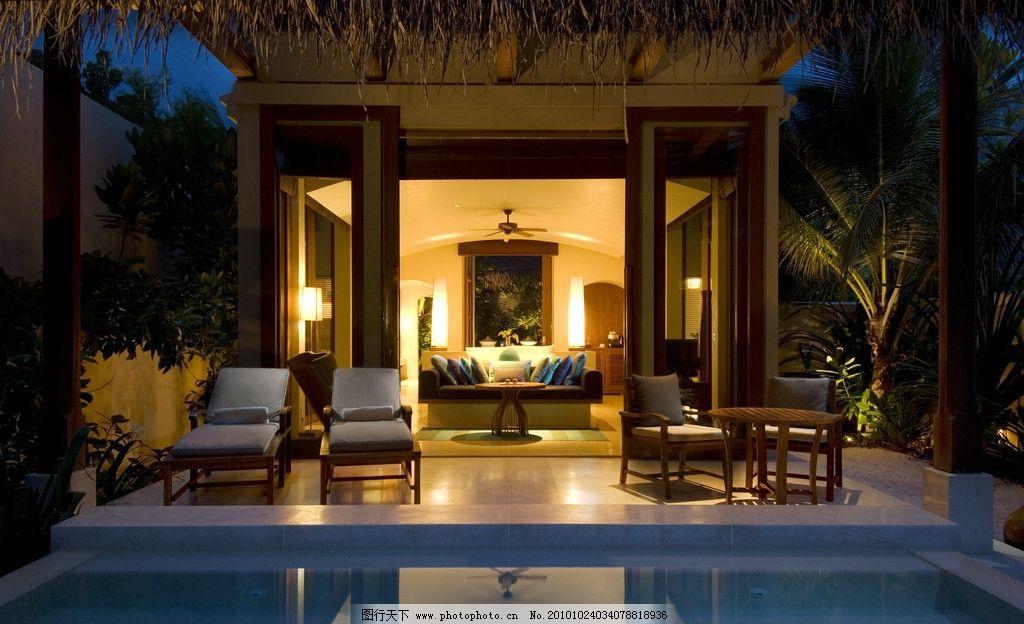 度假村/马尔代夫伦格里岛度假村 豪华别墅图片