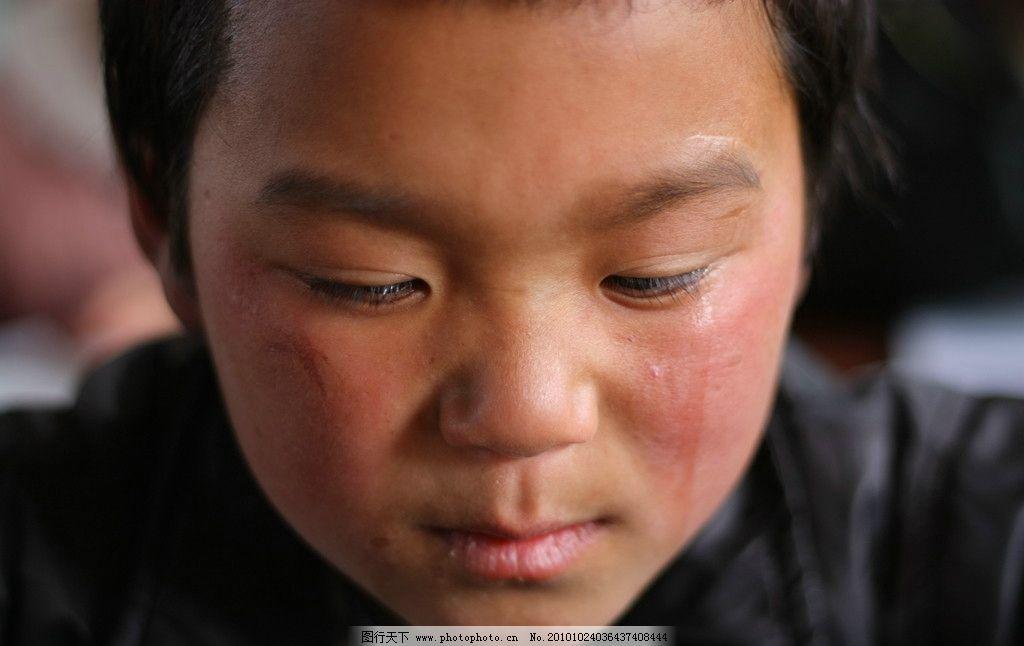 小学生 男生 男孩 哭泣 难过 伤心 可爱的孩子 儿童幼儿 人物图库