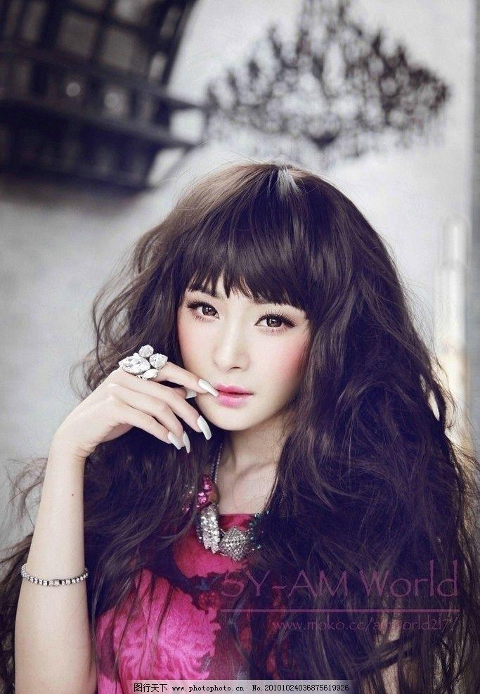 杨幂 中国明星 大陆 演员 红楼梦 晴雯 平面模特 瑞丽 moko 美空 美容