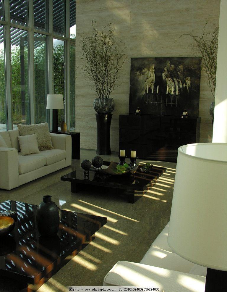 别墅客厅 别墅设计 客厅 梁志天 样板房设计 精装房 室内设计师景