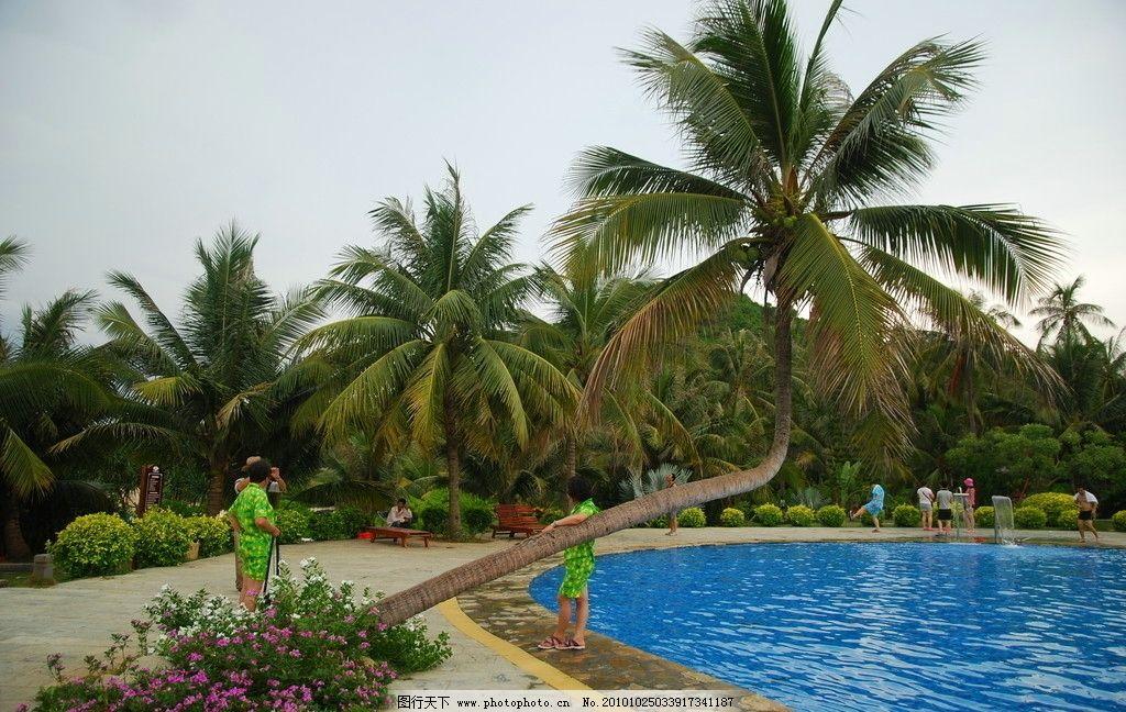 三亚蜈支洲岛游泳池图片