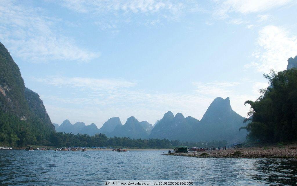 桂林漓江圖片_自然風景_旅游攝影_圖行天下圖庫