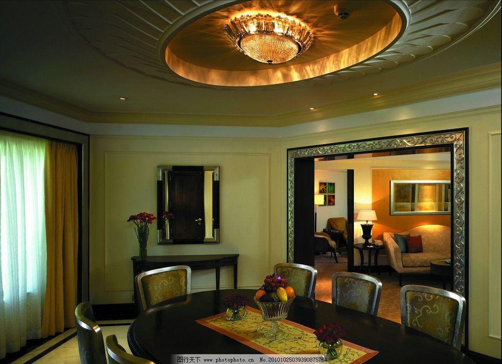 套房 酒店设计 五星级酒店 香格里拉酒店 欧式吊顶设计 家居设计 别墅