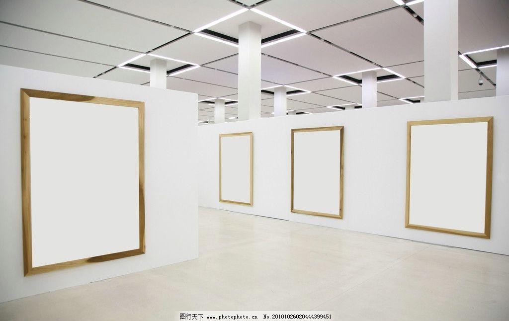 空白画框展板高清图片