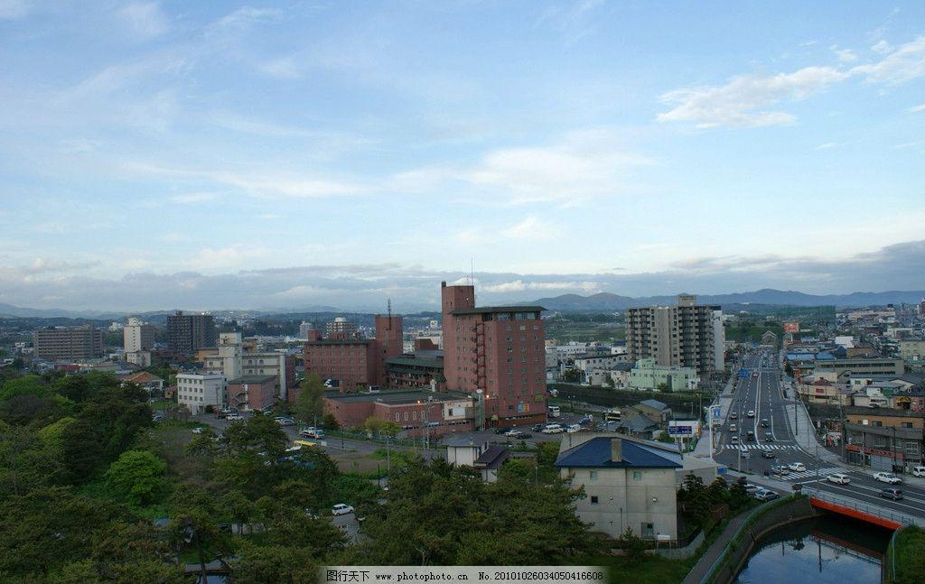 风景图片 北海道/北海道涵馆城市风景图片