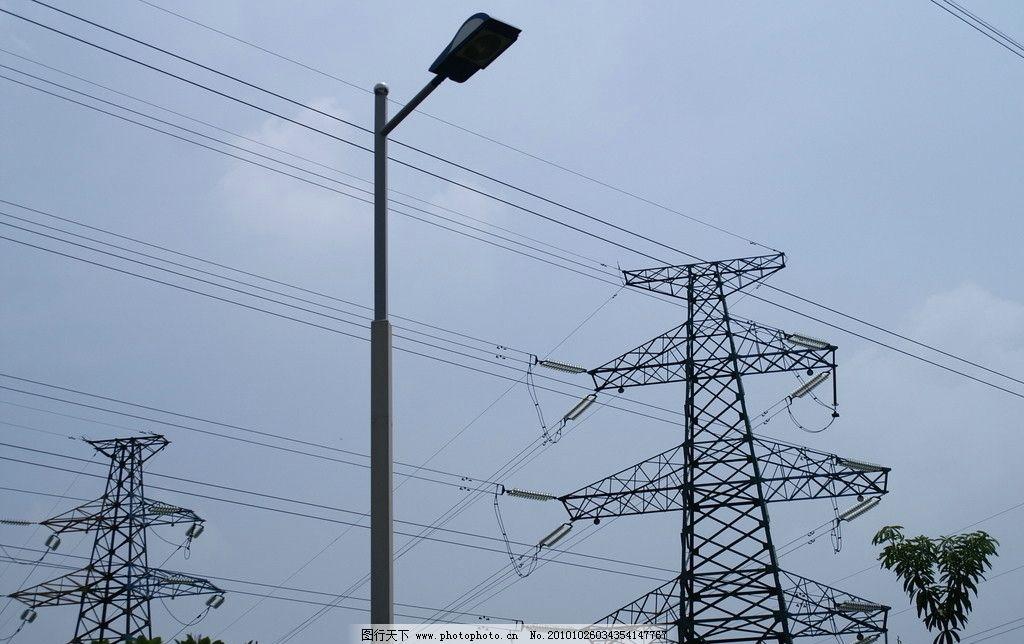供电 南海      景象 电塔 拍摄 蓝天 电线 电路 其他 旅游摄影 摄影