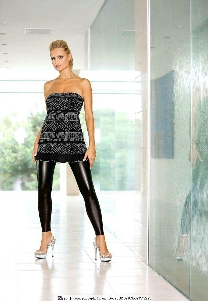 服装平面模特pose动作
