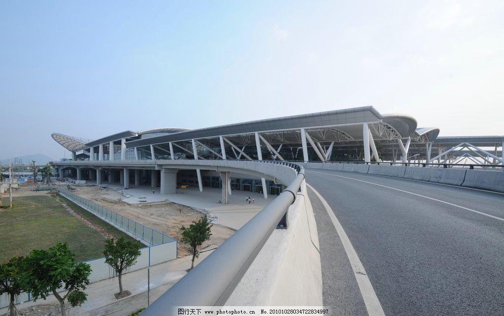广州南站火车站外景图片