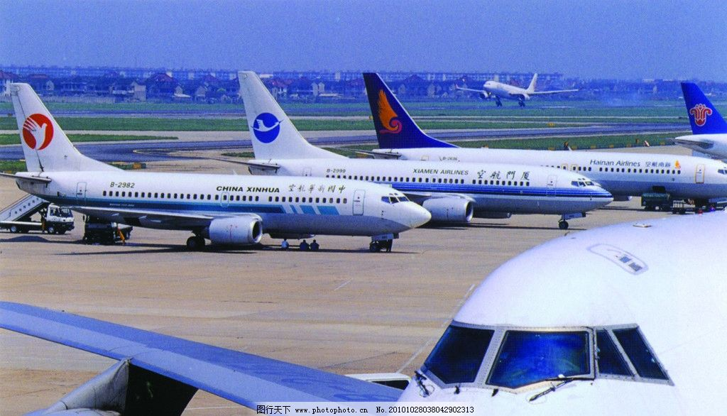 上海浦东国际机场图片