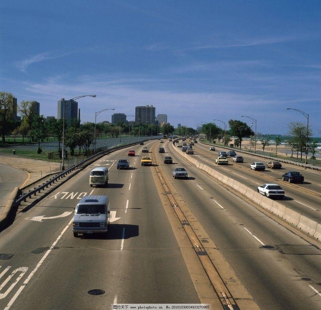 道路 高速公路 汽车疾驰 现代城市 道路一角 道路安全 其他 自然景观