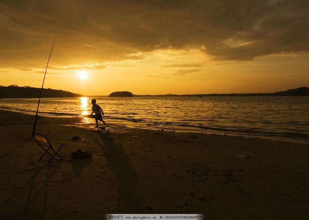 黄昏海岸 黄昏 海岸 壁纸 风景名胜 自然景观 摄影 100dpi jpg