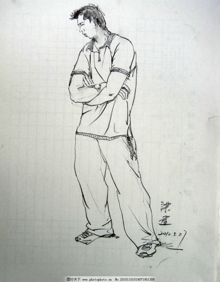 速写 人物速写 美术高考 美术联考 素描 色彩 动画 动漫 卡通人物
