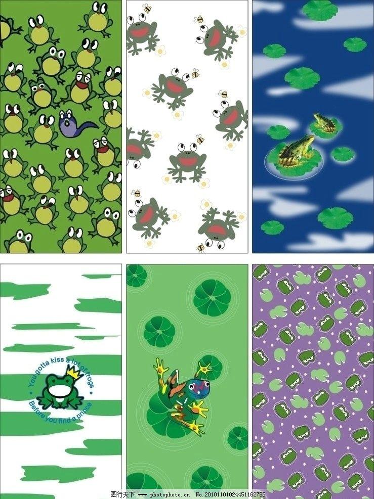 987高   创意卡通青蛙王子台灯/迷 荷叶荷花青蛙简笔画 荷花荷叶池塘